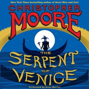 The Serpent of Venice audiobook cover art