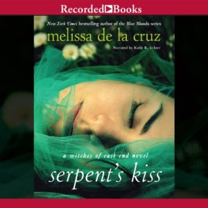 The Serpent's Kiss audiobook cover art