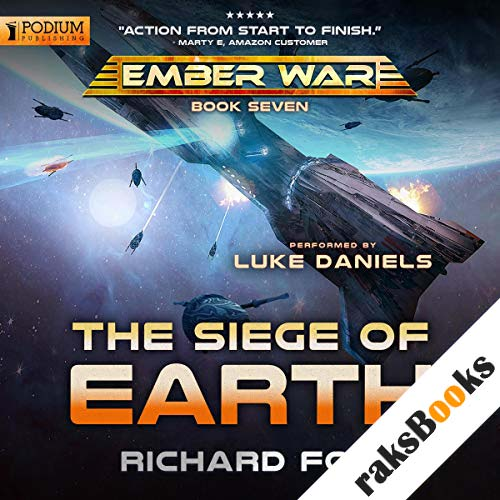 The Siege of Earth audiobook cover art