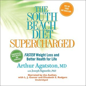 The South Beach Diet Supercharged audiobook cover art