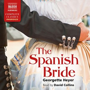 The Spanish Bride audiobook cover art