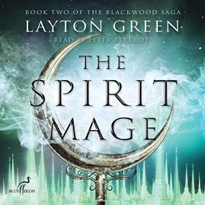 The Spirit Mage audiobook cover art