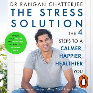 The Stress Solution audiobook cover art