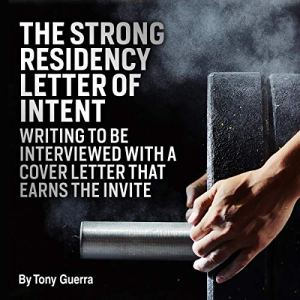 The Strong Residency Letter of Intent audiobook cover art