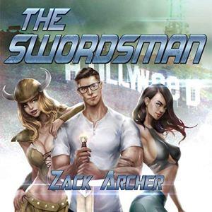 The Swordsman audiobook cover art