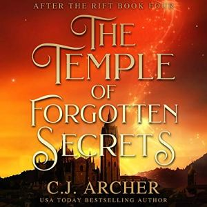 The Temple of Forgotten Secrets audiobook cover art