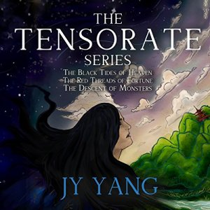 The Tensorate Series audiobook cover art