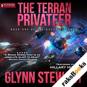 The Terran Privateer audiobook cover art