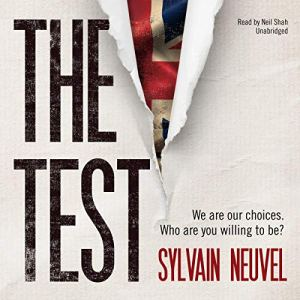 The Test audiobook cover art