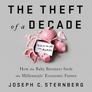 The Theft of a Decade audiobook cover art