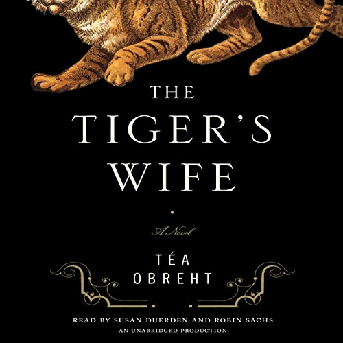 The Tiger's Wife audiobook cover art