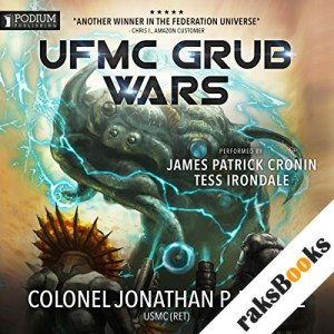 The UFMC's Grub Wars audiobook cover art