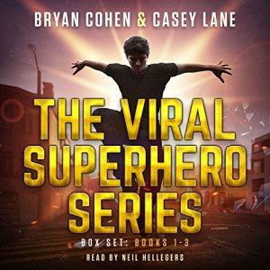 The Viral Superhero Series Box Set: Books 1-3 audiobook cover art