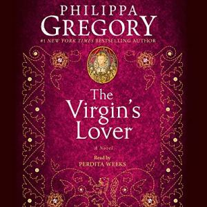 The Virgin's Lover audiobook cover art