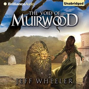 The Void of Muirwood audiobook cover art