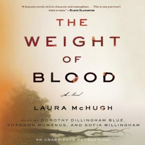 The Weight of Blood audiobook cover art