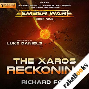 The Xaros Reckoning audiobook cover art