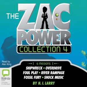 The Zac Power Collection 4 audiobook cover art