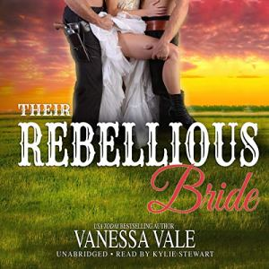 Their Rebellious Bride audiobook cover art