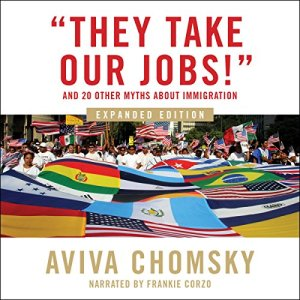 """""""They Take Our Jobs!"""" audiobook cover art"""