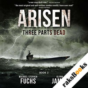Three Parts Dead audiobook cover art