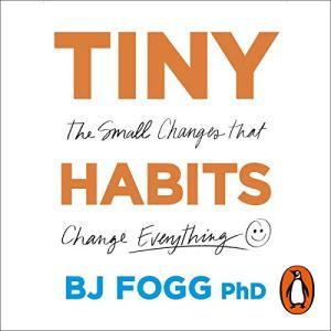 Tiny Habits audiobook cover art
