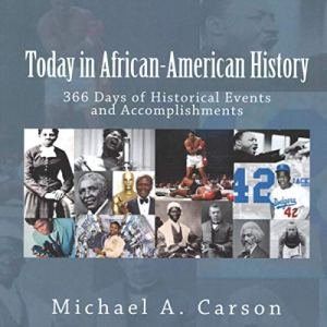 Today in African-American History audiobook cover art