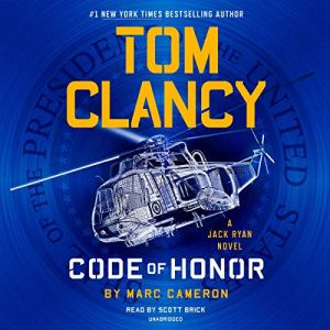 Tom Clancy Code of Honor audiobook cover art