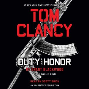 Tom Clancy Duty and Honor audiobook cover art