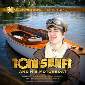 Tom Swift and His Motor Boat audiobook cover art