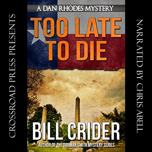 Too Late to Die audiobook cover art