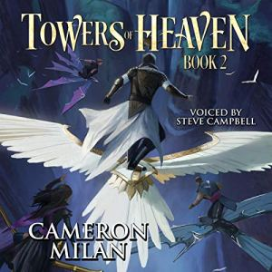 Towers of Heaven (A LitRPG Adventure) audiobook cover art