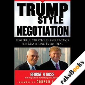 Trump Style Negotiation audiobook cover art