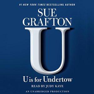 U Is for Undertow audiobook cover art