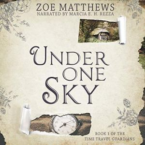 Under One Sky: A Sweet Time Travel Romance audiobook cover art