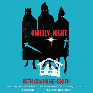Unholy Night audiobook cover art