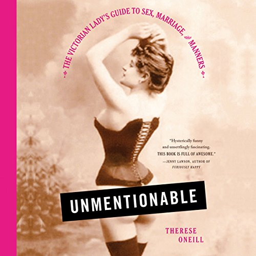 Unmentionable audiobook cover art