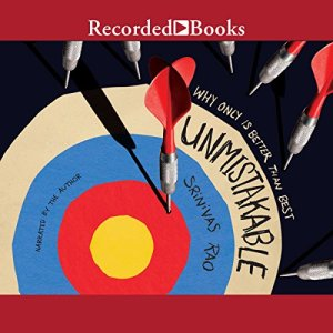 Unmistakable audiobook cover art