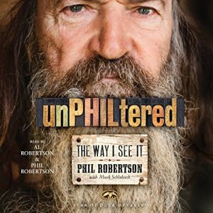unPHILtered audiobook cover art