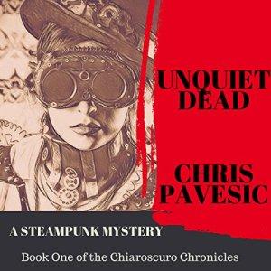 Unquiet Dead audiobook cover art