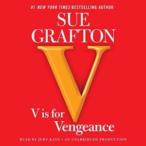 V Is for Vengeance audiobook cover art