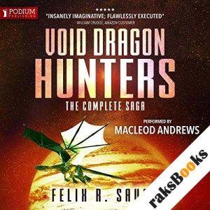 Void Dragon Hunters audiobook cover art