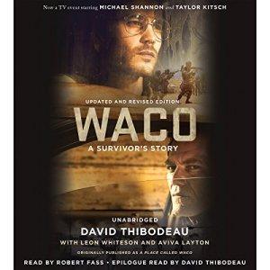 Waco audiobook cover art