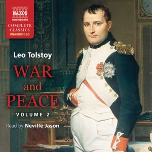 War and Peace, Volume 2 audiobook cover art