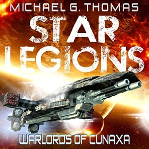 Warlords of Cunaxa audiobook cover art