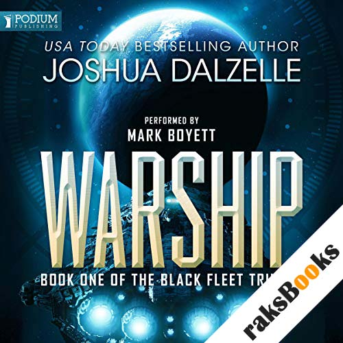 Warship audiobook cover art