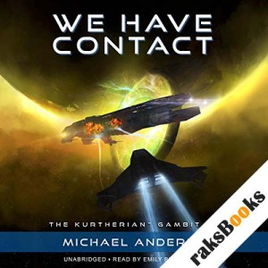 We Have Contact audiobook cover art