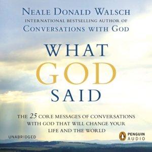 What God Said audiobook cover art