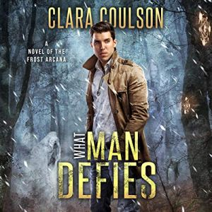 What Man Defies audiobook cover art