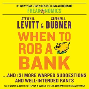 When to Rob a Bank audiobook cover art